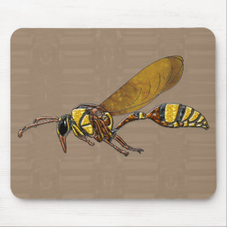 Potter Wasp Mouse Pad