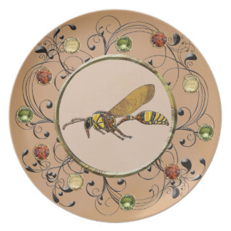Potter Wasp Plate