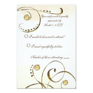 Potter Wasp RSVP Card