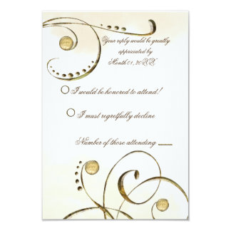 Potter Wasp RSVP 3.5x5 Paper Invitation Card