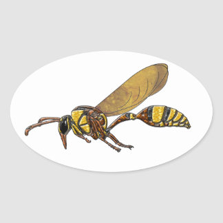Potter Wasp Stickers