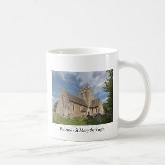 Potterne la iglesia de St Mary la Virgen Taza De Café