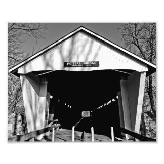 Potters Covered Bridge Photo Print