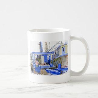 Potters Fish Boat mug