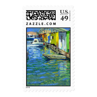 Potters Fish Market postage stamp
