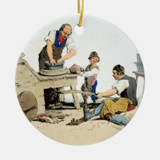 Potters, from 'Costume of Great Britain', publishe Ceramic Ornament