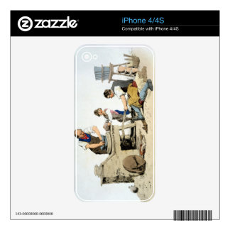Potters, from 'Costume of Great Britain', publishe iPhone 4 Skins