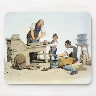 Potters, from 'Costume of Great Britain', publishe Mouse Pad