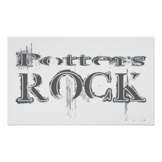 Potters Rock Poster