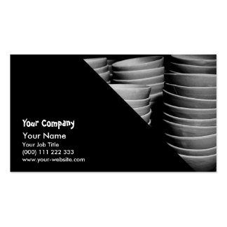 Pottery bowls business card