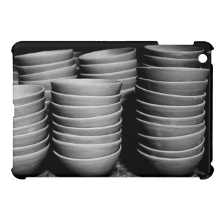 Pottery bowls case for the iPad mini