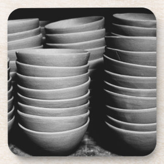 Pottery bowls coaster