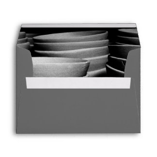 Pottery bowls envelope