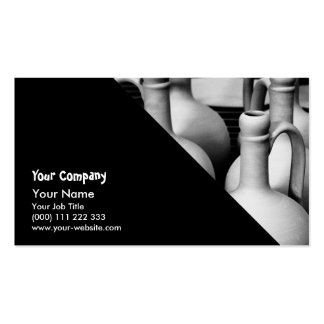 Pottery Business Card Templates