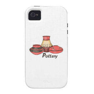 POTTERY VIBE iPhone 4 COVER