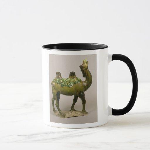 Pottery Chinese wailing camel Mug