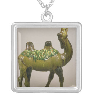 Pottery Chinese wailing camel Necklace