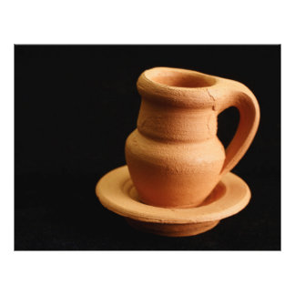"""Pottery closeup 8.5"""" x 11"""" flyer"""