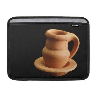 Pottery closeup MacBook sleeve