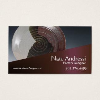 """""""Pottery Designer I"""" - Ceramics Business Card"""