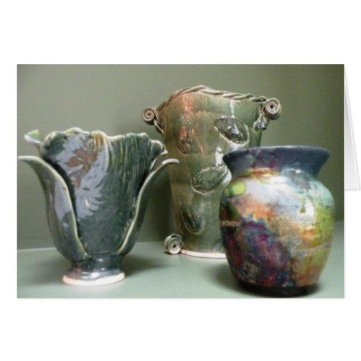 pottery designs note card zazzle