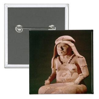 Pottery Goddess of the Hearth, Vera Cruz Button