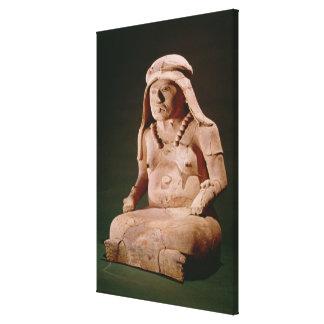 Pottery Goddess of the Hearth, Vera Cruz Canvas Print