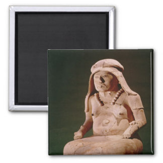 Pottery Goddess of the Hearth, Vera Cruz 2 Inch Square Magnet