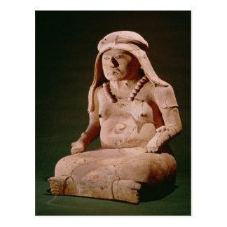 Pottery Goddess of the Hearth, Vera Cruz Postcard