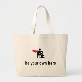 Pottery Hero Large Tote Bag