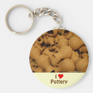 Pottery Key Chains