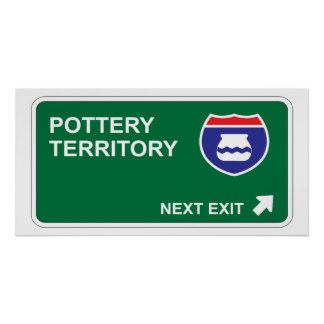 Pottery Next Exit Poster