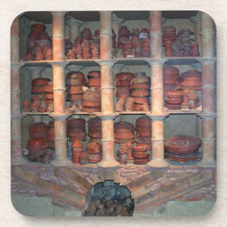 Pottery oven from Graufesenque, c.150 BC (photo) Beverage Coaster
