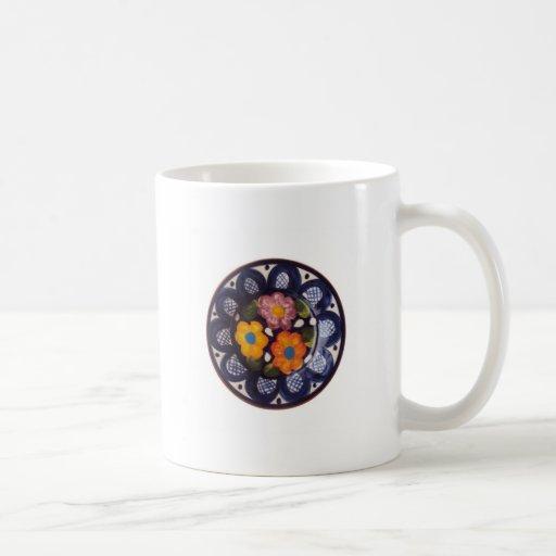 Pottery Pattern Classic White Coffee Mug