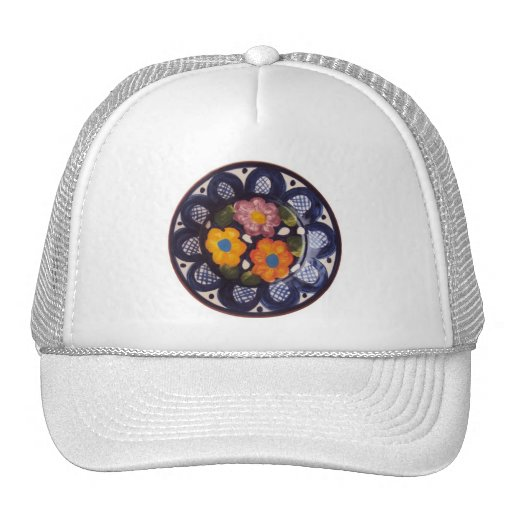 Pottery Pattern Mesh Hat