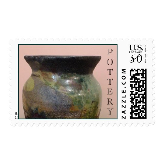 Pottery Postage Stamps