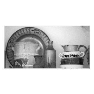 Pottery still life card