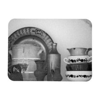 Pottery still life magnet
