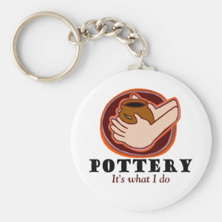 Pottery T-shirts and Gifts. Keychain