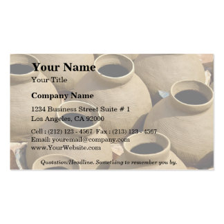 Pottery Village, Ashanti Region, Ghana Double-Sided Standard Business Cards (Pack Of 100)