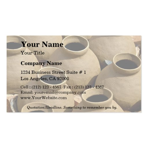 366 pottery business cards and pottery business card for Pottery business cards