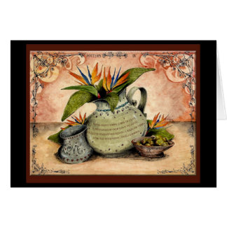 Pottery wedding anniversary: Jupigio-Artwork.com Greeting Card