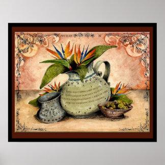 Pottery Wedding Anniversary: Jupigio-Artwork.com Poster