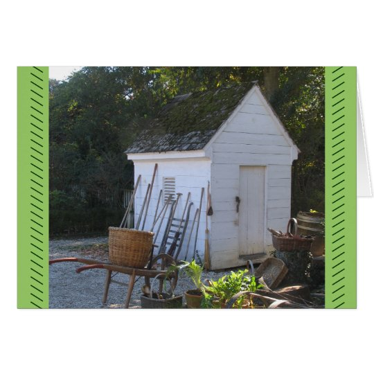 Potting Shed Card