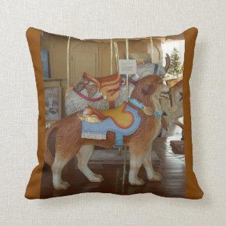 Pottstown Carousel Dog Pillow
