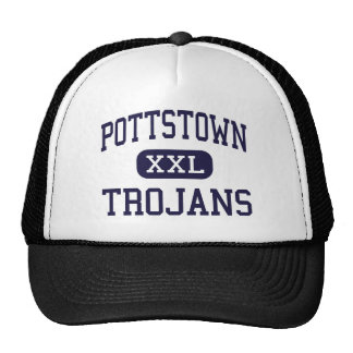 Pottstown - Trojans - Senior - Pottstown Hats