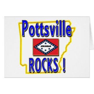 Pottsville Rocks ! (blue) Card