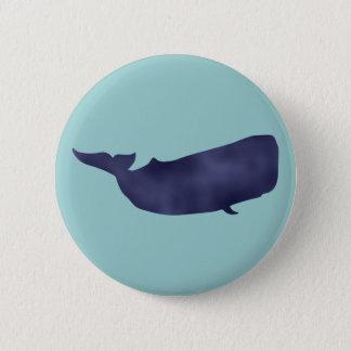 Pottwal sperm whale pinback button