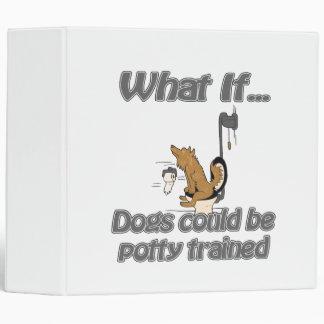 potty del perro entrenado