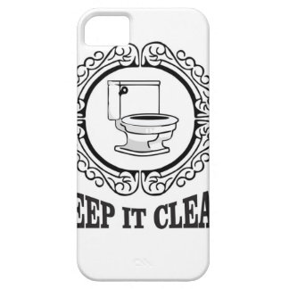 potty jokes clean reminder iPhone SE/5/5s case